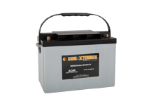 PVX-1040HT SunXtender Solar Battery right view