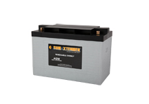 PVX-1180T SunXtender Solar Battery left view
