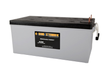 PVX-2580L SunXtender Solar Battery left view