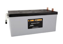 PVX-2580L SunXtender Solar Battery right view