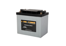 PVX-5040T SunXtender Solar Battery left view