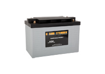 PVX-7680T SunXtender Solar Battery right view