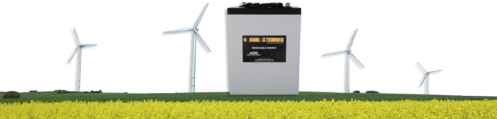 Contact SunXtender Regarding Solar Battery Applications